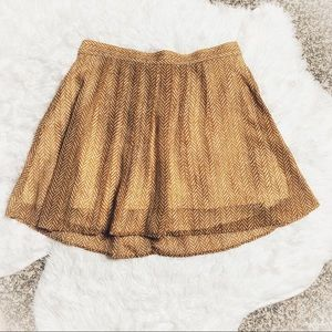 Old Navy Pleated Elastic Waist Skirt Size Small